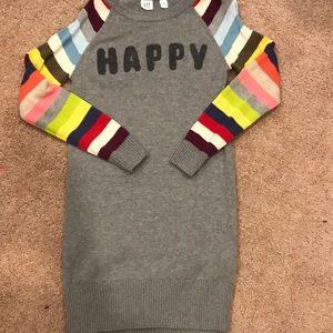 Gap Kids Happy Sweater dress